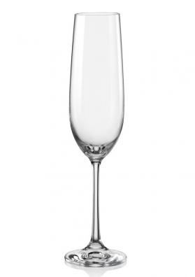 Poháre na šampanské Viola 190 ml