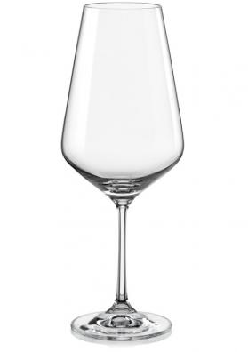 Poháre na červené víno Sandra 550 ml (6 ks)
