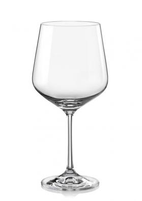 Poháre na červené víno Sandra 550ml (6ks)