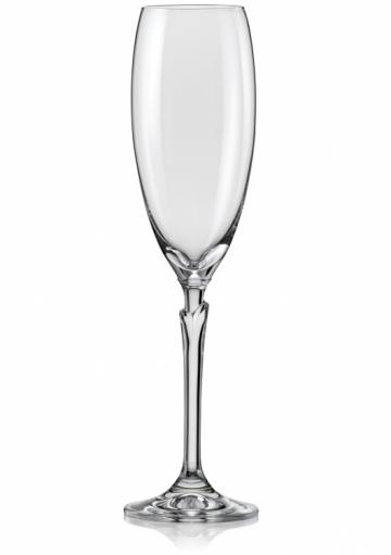 Poháre na šampanské Lilly 220 ml