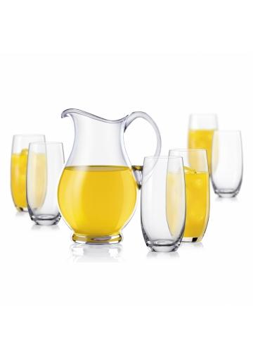 Sada pohárov a džbán - Lemonade set (7 ks v sete)