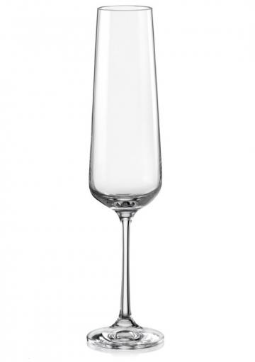 Poháre na šampanské Sandra 200 ml