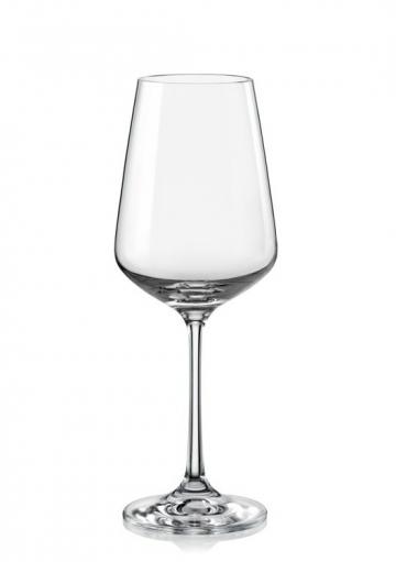 Poháre na biele víno Sandra 250ml (6ks)